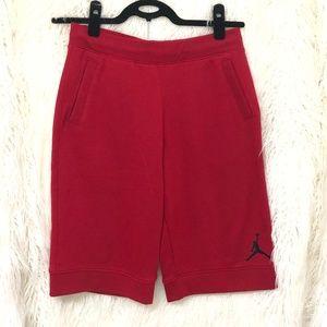 Jordan Nike Red Junior Shorts Like New
